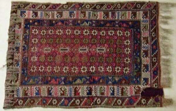 Dosemealti rug early 20th century. Antalya Archaeological Museum.