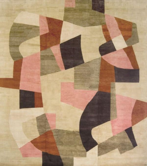 Jazz 612. Hand knotted in Afghan hand spun wool 2010 – Gideon Hatch