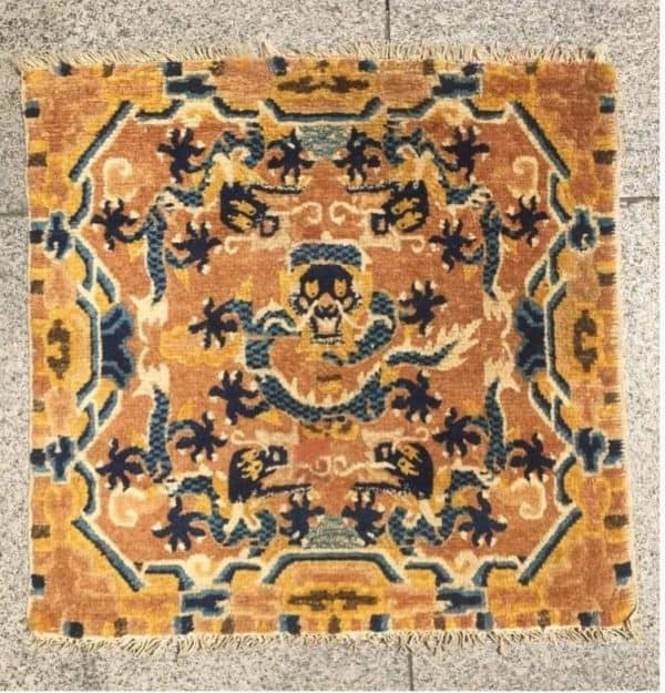 Chinese Ningxia sitting sq ca. 1825 – Rupert Smith Textiles