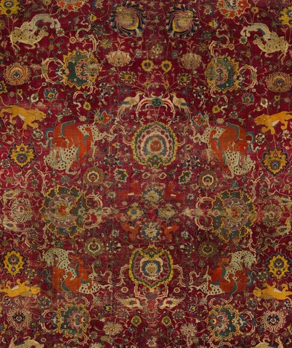 Detail of the Emperor's Carpet. Metropolitan Museum of Arts.
