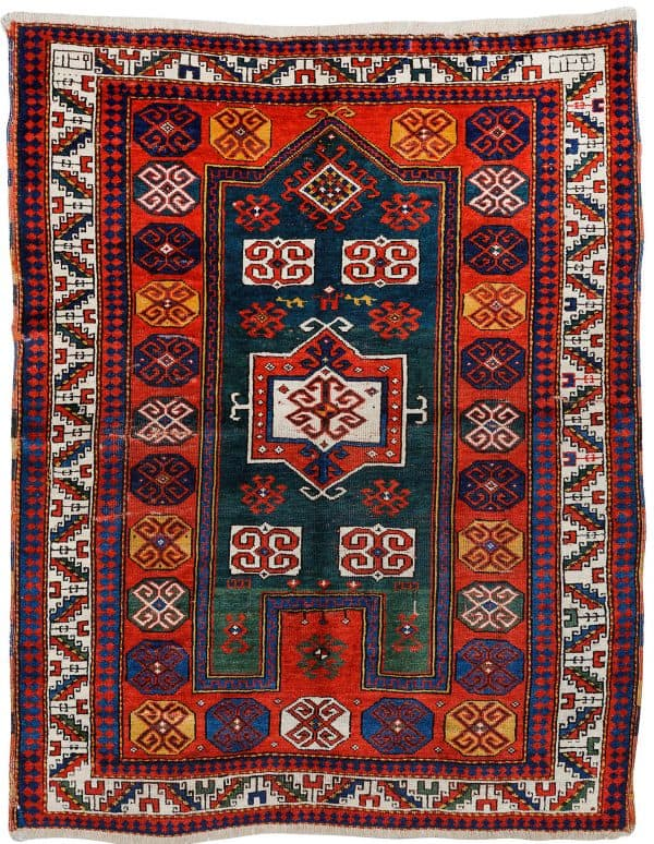 Fachralo Kazak prayer rug